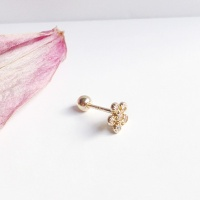 14k gold sunny flower piercing(세트)
