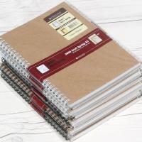 옥스포드 A5 80매×10권 크라프트 스프링노트 ASN07011