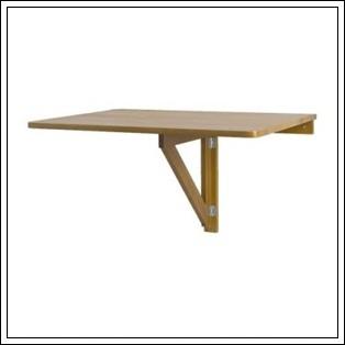 NORBO 접이 벽걸이 식탁 (자작나무)