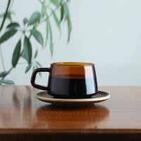 킨토 세피아 컵&소서 270ml (황색)