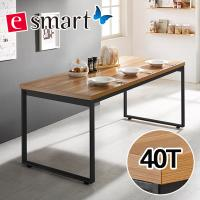 [e스마트] 스틸헤비 테이블 1800x800 (사각다리)  / 상판두께40T