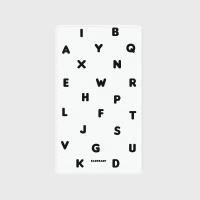 [어프어프] 보조배터리 Alphabet-white