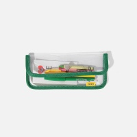 SWSW PENCIL CASE PVC Green