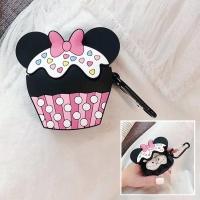 에어팟1/2 컵케이크 충전 실리콘케이스 키링_핑크367