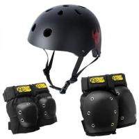 [Darkstar] DRIP HELMET AND PAD PACK (Black)