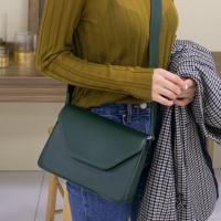 심플 사각 숄더백 가방