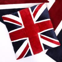 영국 유니온잭 극세사 방석
