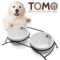토모 도자기 애견식탁세트(2구)