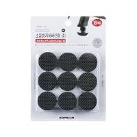 소음방지에바(원형/중)블랙 L3014