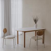 마리 이태리 호마이카 반타원형 테이블 식탁 5size