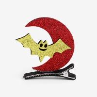 [인디고샵] 할로윈 황금박쥐 스탠딩 집게헤어핀