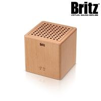 브리츠 휴대용 대나무 블루투스 스피커 BZ-W06 (블루투스 4.2 / AUX단자지원 / TF카드지원)