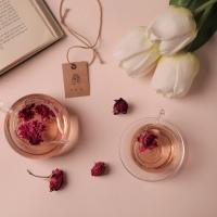 리로라 순수 장미 꽃차