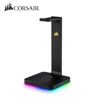 커세어 프리미엄 헤드셋 거치대 ST100 RGB (풀 RGB LED / 7.1 서라운드 사운드 / 듀얼 USB 3.1포트)