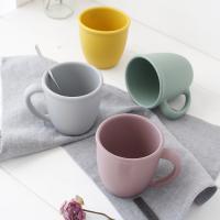 파스텔 실리콘 컵-4color