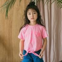 [보니스텔라] 17SS377 슈퍼데이 리본 티셔츠