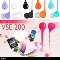 바이럴 커널형 이어폰 VSE-200