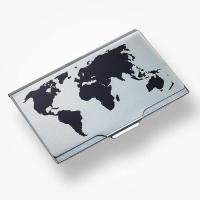 Troika 양각무늬 얼룩방지 알루미늄 명함케이스