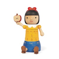 우더풀라이프 달력 SNOW WHITE WOODEN CALENDAR