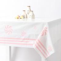 롤리팝 비닐 테이블보 -핑크(1매)