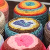 DECO Cake yarn 털실