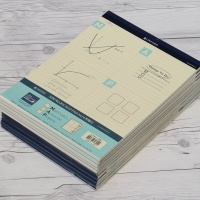 옥스포드 A4 80매×10권 절취 수학 패드노트 ALP99301