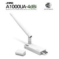 [EFMNetwork] ipTIME A1000UA-4dbi (1Tx-1Rx 433Mbps/2.4G/5G Dual Band/11AC 외장안테나형 USB무선랜카드)