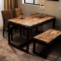 [에인하우스] 알레그로K 4인용 식탁세트 (벤치/의자)