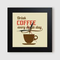 ct838-커피와함께좋은하루_미니액자벽시계