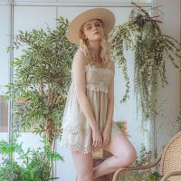 Angel 여름 나시 레이스 투피스잠옷