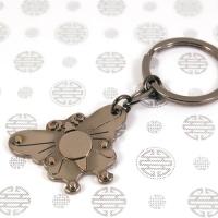 장석열쇠고리-나비문