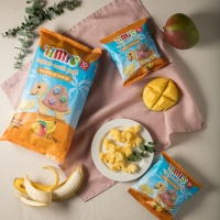 티미 유기농 터틀퍼프 바나나 앤 망고 멀티팩