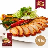뉴닭 매콤훈제 닭가슴살 슬라이스 100g 20팩