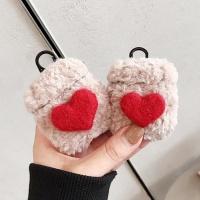 에어팟프로 3세대 귀여운 털케이스 키링_하트 429/PRO