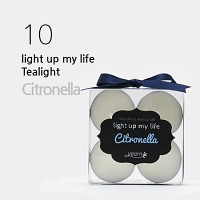Light up my life 티라이트 4set - 시트로넬라 (Citronella)