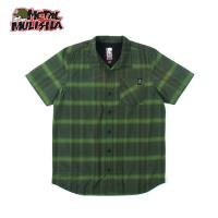 GIBSON WOVEN S/S (MILITARY GREEN)