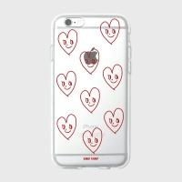 [어프어프] 젤리케이스 Cutie love-red