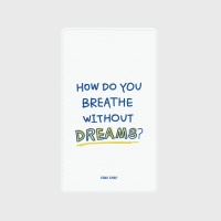 [어프어프] 보조배터리 I dream-white