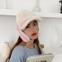 감성 귀달이 뽀글 헌팅캡 귀여운모자 방한모자 골덴모자