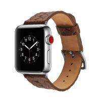애플워치 밴드 1 2 3 4 스트랩 시계줄 가죽 와플