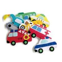 펠트 부직포 유아 자석 놀이 학습 교구 자동차 교통