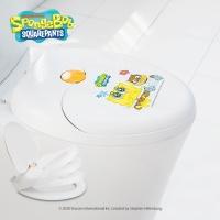 스폰지밥 2in1 무소음 유아 겸용 변기커버 SBB-C01