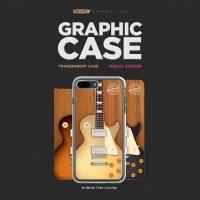 아이폰7PLUS 그래픽 케이스 - 기타(Les Paul)