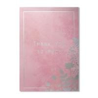 홀마크 감사 카드(핑크)-KED2202