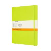 클래식노트-룰드/레몬 그린-소프트 XL