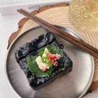 에어팟 1/2세대/프로 입체 야채쌈 초밥 실리콘 케이스