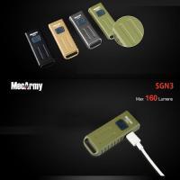 맥아미 USB 충전식 라이트 멀티라이트 160루멘 SGN3