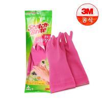 [3M]황토숯 일반형 고무장갑(소)