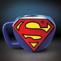 [영국 팔라돈정품] DC코믹스 슈퍼맨 로고형 머그컵