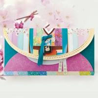 매화색동저고리 용돈봉투 FB220-5